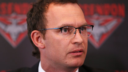 Essendon CEO Xavier Campbell chooses Dons over AFL