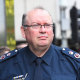 Victoria Police Chief Commissioner Graham Ashton arrives at the royal commission on Monday morning.
