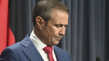 Health Minister Roger Cook said the matter was in the hands of AMSA.