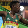 Desisa sprints to midnight marathon win