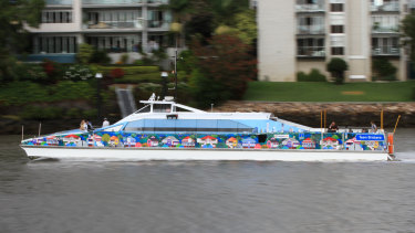 Ferries are operated by Transdev under contract with Brisbane City Council.