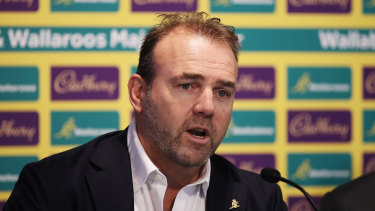 Rugby Australia chief executive Andy Marinos is confident the July Test series will go ahead.