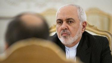 No visa: Iranian Foreign Minister Mohammad Javad Zarif.