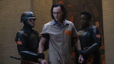 Tom Hiddleston in Loki.