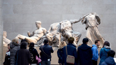 Greece argues that the so-called Elgin Marbles should be returned by the British Museum.