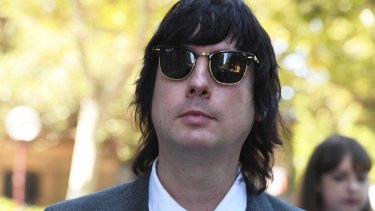 Johnny Padgett of American duo Glass Candy.