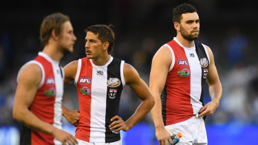 The Saints were smashed by North Melbourne on Good Friday.