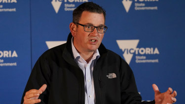 Premier Daniel Andrews. One of the politicians who has put politics to one side.