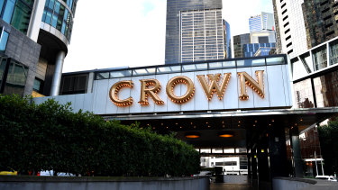 Crown says it has stood down around 11,500 direct employees.