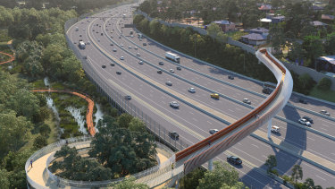 Upgrades are planned for the Eastern Freeway, as part of the new North East Link project.