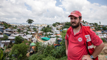 34-year-old Perth engineer Samuel Cleary in Cox's Bazar, Bangladesh.