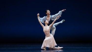 Ako Kondo and Chengwu Guo bring the stage alive.