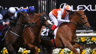 Vow And Declare wins the 2019 Melbourne Cup