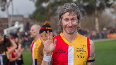 You am I frontman Tim Rogers played his final game.
