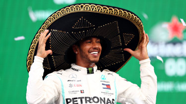 Lewis Hamilton won in Mexico, but world title hunt will wait another round.