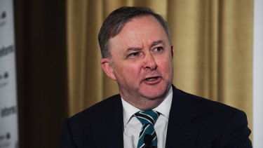 "Opposition Leader Anthony Albanese says the PM ""needs to actually give some straight answers""."
