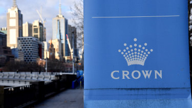 Crown Melbourne's casino licence is in the firing line.