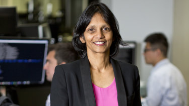 """Macquarie Group CEO Shemara Wikramanayake said Macquarie now expects its full year results to be """"slightly down as opposed to significantly down""""."""