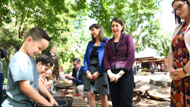 Premier Gladys Berejiklian said students were falling behind after seven weeks of lockdown.