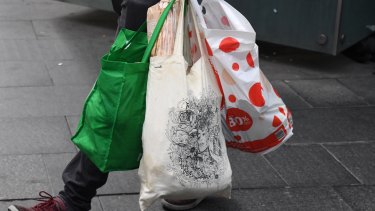 From today, Coles will charge 15c for their reusable plastic bags.