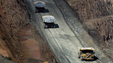 Rio Tinto said there isn't a pipeline of emerging mines.