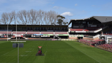 Brookvale Oval on the Northern Beaches is one of the NRL's priority venues to redevelop.