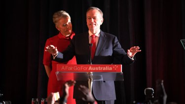 Bill Shorten concedes Labor's election loss.