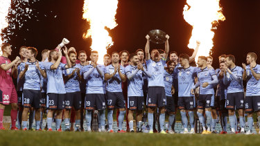 Sydney FC were crowned A-League premiers over the weekend.