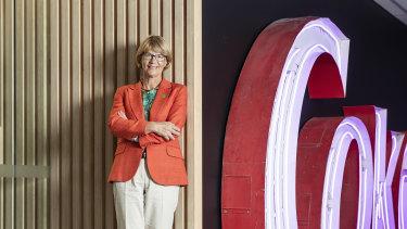 Coca-Cola Amatil boss Alison Watkins.