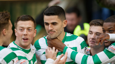Look who's back: Tom Rogic will add to Graham Arnold's attacking arsenal against Jordan.