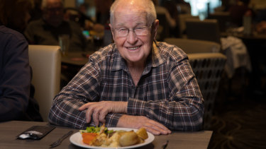 Horsham resident Frank Godden has a date with a florrie every fortnight.