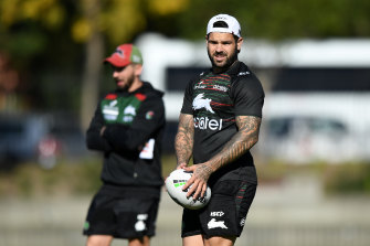 Adam Reynolds is expected to be confirmed as South Sydney's new captain on Tuesday.
