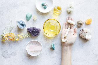 "Dr Nikki Stamp: ""If people forgo proven treatments in favour of crystals, that is potentially problematic and harmful."""