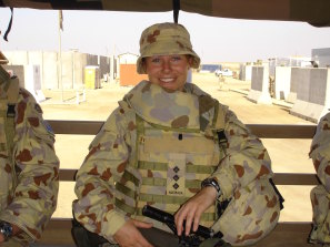 Sarah Watson had been in the army for 10 years before she was deployed to Iraq and saw it as the ''pinnacle of my career''.