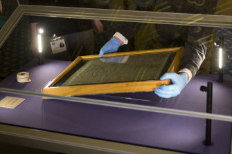 Salisbury Cathedral's 1215 copy of the Magna Carta.