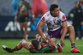 Tino Fa'asuamaleaui is on the verge of an Origin debut after a powerhouse season with the Storm.