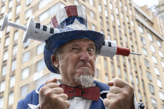 Public health groups are targeting conservative vaccine-hesitant groups with patriotism.