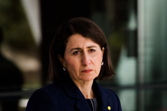 NSW Premier Gladys Berejiklian on Thursday.