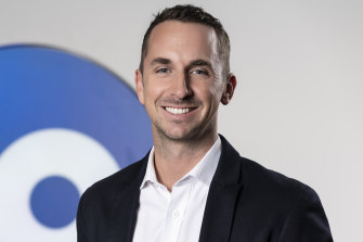 Daniel Monaghan, Network 10's head of programming.