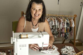 Cath King runs babywear business Mama Bear from her Parkes home.