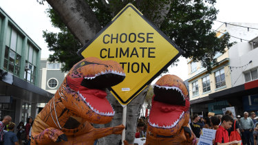 Opinion polls show concern about climate change is growing in Australia.