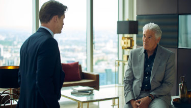Richard Gere and Billy Howle in MotherFatherSon