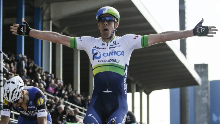 Canberra cyclist Mathew Hayman won the 2016 Paris-Roubaix.