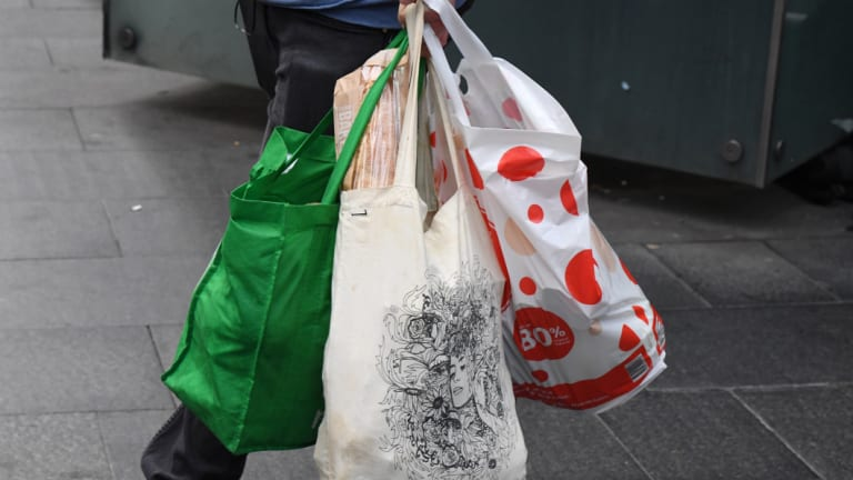 "Coles will give its ""Better Bags"" away for free."