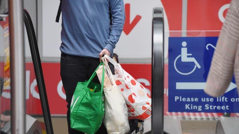 The Coles plastic bag ban didn't last long.