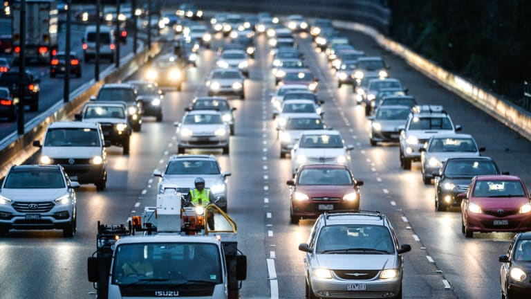 Melbourne's roads are straining under the surge in population, with the city hitting 5 million people this month.