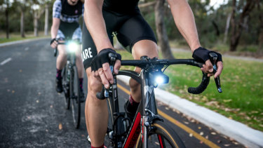 """Cycliq's cameras are promoted as the """"dashcam for cyclists."""""""
