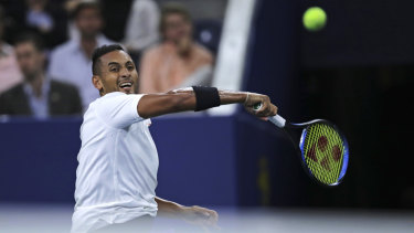 The draw is opening up for Nick Kyrgios.