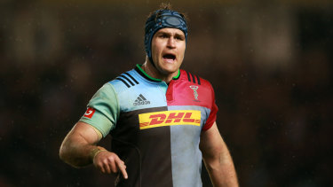 James Horwill is hanging up his boots at the end of the season in England.