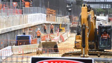 One in 10 Victorians are employed in the construction sector, the government says.
